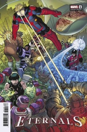 Eternals (Volume 5) 1 (Cover AB)—Front Cover