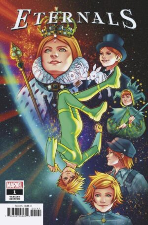 Eternals (Volume 5) 1 (Cover D)—Front Cover