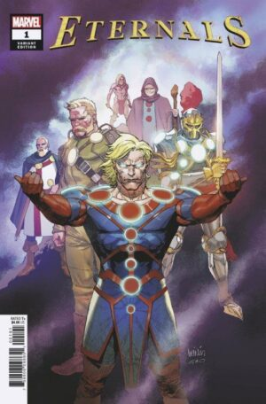 Eternals (Volume 5) 1 (Cover W)—Front Cover