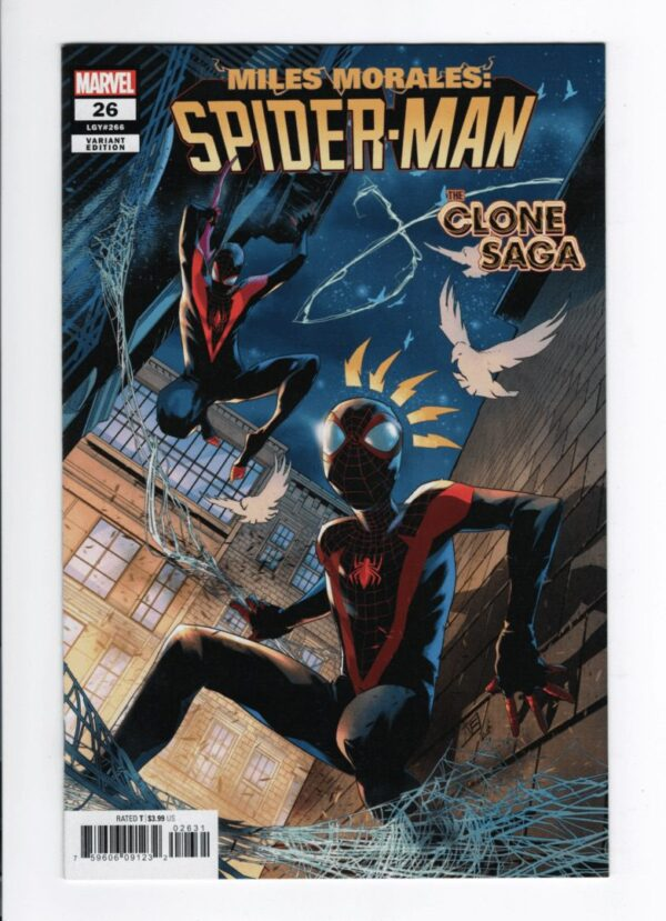 Miles Morales: Spider-Man 26 (Cover B)—Front Cover