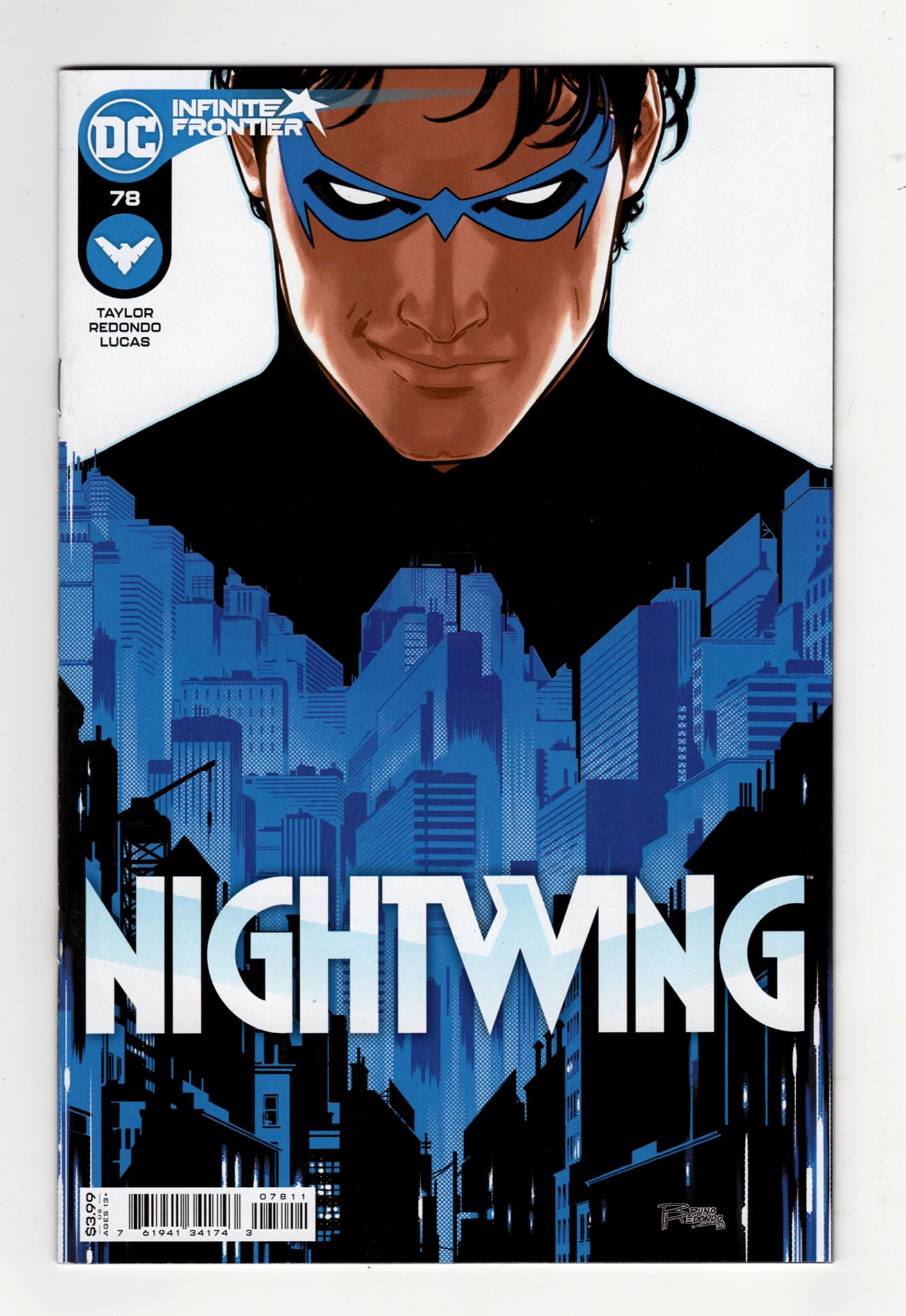 Nightwing 81 (Cover A)—Front Cover | Nightwing Titans | Nightwing and Starfire | Nightwing and Robin