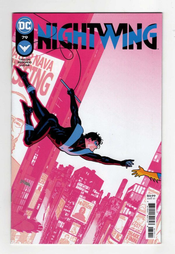 Nightwing 79 (Cover A)—Front Cover | Nightwing Titans | Nightwing and Starfire | Nightwing and Robin