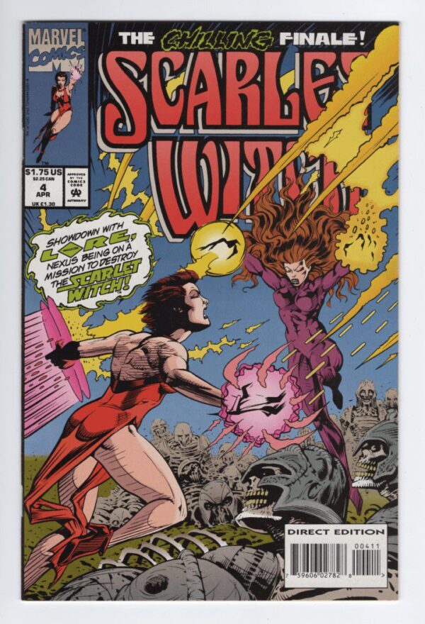 Scarlet Witch [1994] 4—Front Cover