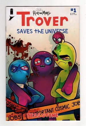 Trover Saves the Universe 1—Front Cover | Trover Saves the Universe DLC | Trover Saves the Universe Review | Rick and Morty