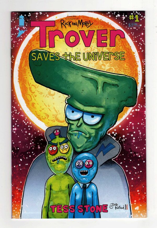 Trover Saves the Universe 1 (Cover B)—Front Cover   Trover Saves the Universe DLC   Rick and Morty