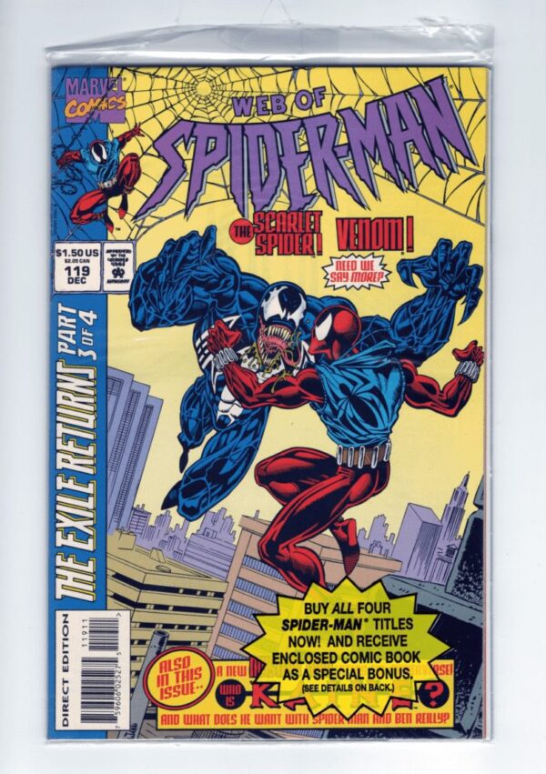 Web of Spider-Man 119—Front Cover