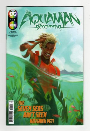 Aquaman: The Becoming #1—Front Cover