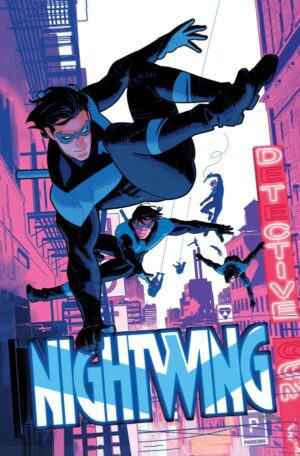 Nightwing 87 Pre order Cover A   Nightwing continuous image issue   Nightwing splash issue